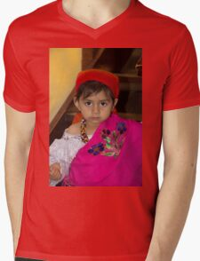 Cuenca Kids 795 Mens V-Neck T-Shirt