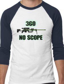 360 No Scope - Modern Warfare 2 Men's Baseball ¾ T-Shirt