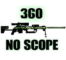 360 No Scope - Modern Warfare 2 Photographic Print