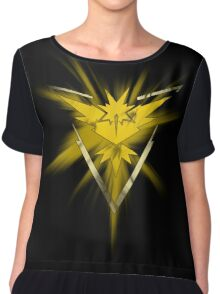 Team Instinct Pride (Pokemon Go) Chiffon Top
