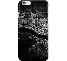 Map of Old 16th Century London  iPhone Case/Skin