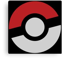 Pokeball Canvas Print