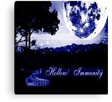 Hollow Immunity Stella Blue Canvas Print