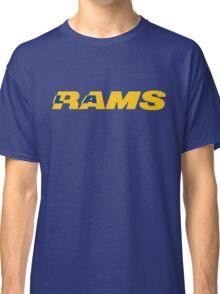 LOS ANGELES RAMS FOOTBALL RETRO Classic T-Shirt