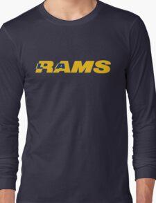 LOS ANGELES RAMS FOOTBALL RETRO Long Sleeve T-Shirt