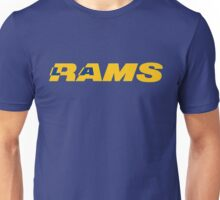 LOS ANGELES RAMS FOOTBALL RETRO Unisex T-Shirt