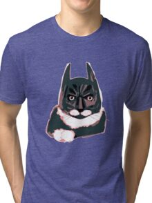 Cat - Batman Tri-blend T-Shirt