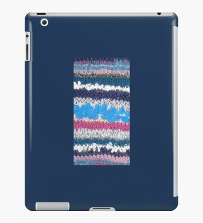 Knitted! iPad Case/Skin