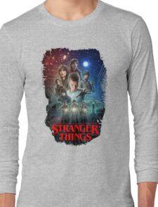 Stranger Things Black Long Sleeve T-Shirt