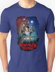 Stranger Things Black Unisex T-Shirt