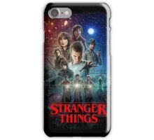 Stranger Things Black iPhone Case/Skin