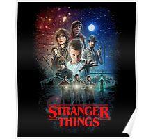 Stranger Things Black Poster