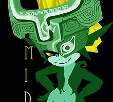 Midna: Green by miss0aer