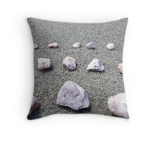 Crystal Quartz in Australia Throw Pillow