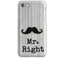 mr. right yeah ! iPhone Case/Skin