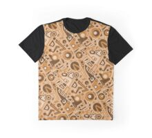 Deconstructed Jukebox Graphic T-Shirt