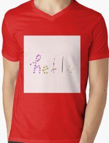 Hello Mens V-Neck T-Shirt