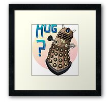 Dalek Love Framed Print