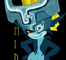 Midna: Teal by miss0aer