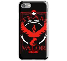 team valor trainer 2016  iPhone Case/Skin