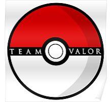 Team Valor Poké Ball | Pokémon Go Poster
