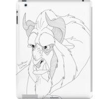 Beast iPad Case/Skin