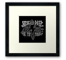 Neck Deep Bird Framed Print