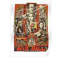 Kill Bill Bloody Bride Poster