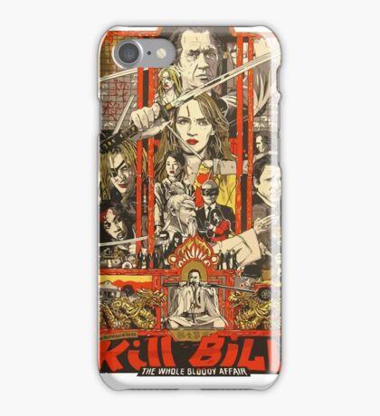 Kill Bill Bloody Bride iPhone Case/Skin