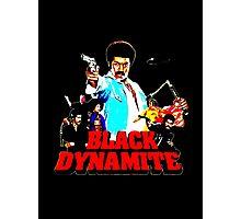 Black Dynamite Photographic Print