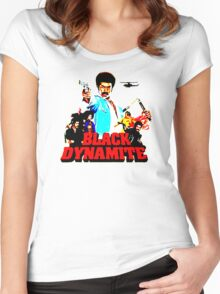 Black Dynamite Women's Fitted Scoop T-Shirt