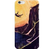 """He fell."" iPhone Case/Skin"