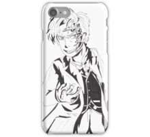 Mr Clever - Black and White iPhone Case/Skin