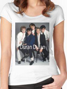 Duran Duran Vintage Women's Fitted Scoop T-Shirt