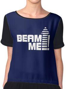 Beam me up V.1 (white) Chiffon Top