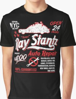 Ray Stantz Auto Repair Graphic T-Shirt