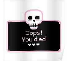 Oops! You died Poster