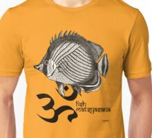 Yoga Fish (v.2) YogaMig Unisex T-Shirt