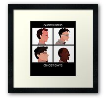 Ghost Buster Parody - Ghost Days (1984) Framed Print