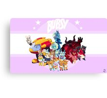 Bubsy Reboot - Combo Canvas Print