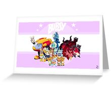 Bubsy Reboot - Combo Greeting Card