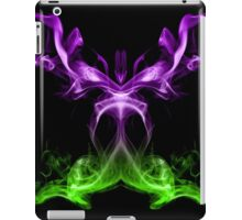 Green and purple smoke. iPad Case/Skin