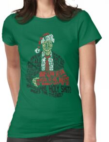 Holy Shit! Where's the Tylenol? X-Mas Womens Fitted T-Shirt