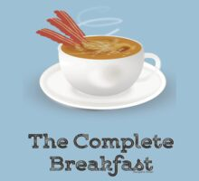 Bacon and Coffee: the Complete Breakfast (light) by pokingstick