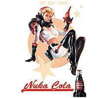 ZAP THAT THIRST Nuka Cola Photographic Print