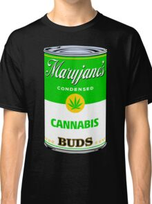 Maryjane's Condenced Cannabis Buds Classic T-Shirt