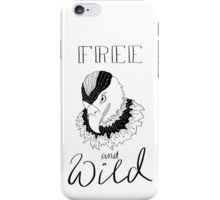 free and wild2 iPhone Case/Skin