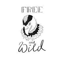 free and wild2 Photographic Print