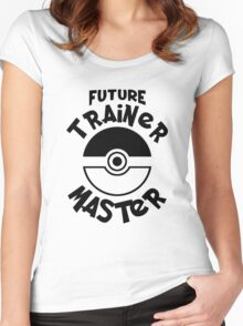 Future Trainer Monster T-Shirt Women's Fitted Scoop T-Shirt