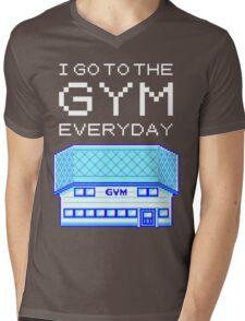 I go to the gym everyday - pokemon Mens V-Neck T-Shirt